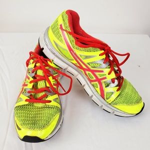 Asics Gel Womens Blur33 Shoes Sz.8.5 Neon Yellow
